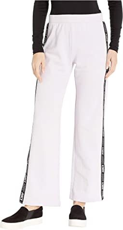 Juicy Logo Tie Wide Leg Pants
