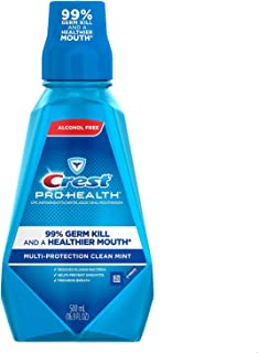 Crest Pro-Health Multi-Protection Oral Rinse Refreshing Clean Mint, 500 ML