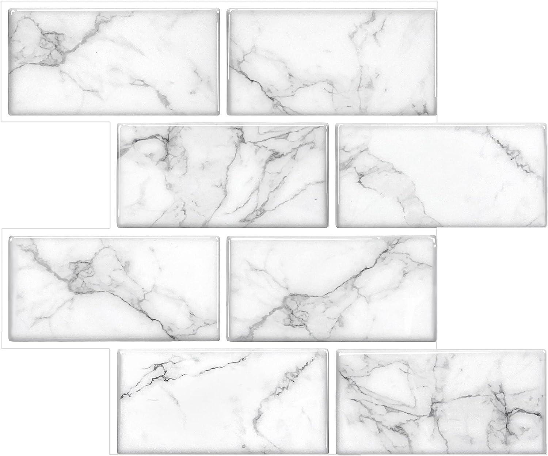 STICKGOO Thicker Design Subway Tile Stick and Peel backsplash M Branded trend rank goods