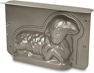 Städter Osterlamm ca. 36 x 22 x 9,5 cm, Metall, Silber, 30 x 19 x 10 cm