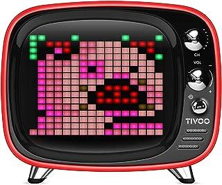 Divoom 840500101513 Pixel Art Speakers - Red (Pack of 1)