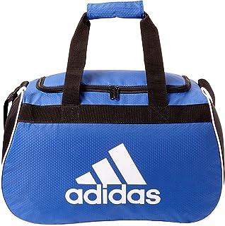 f86070c06 adidas Diablo pequeñas II Duffel Bag (Negrita Azul/Blanco/Negro) Gear Travel