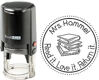 Round Self Inking Teacher Stamp (Teacher Name)
