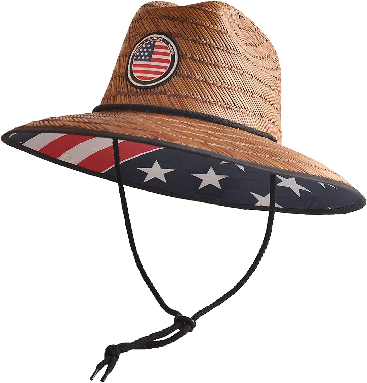 Men's Classic Straw Hat Protection Sun Super popular specialty cheap store Lifeguard Outsider