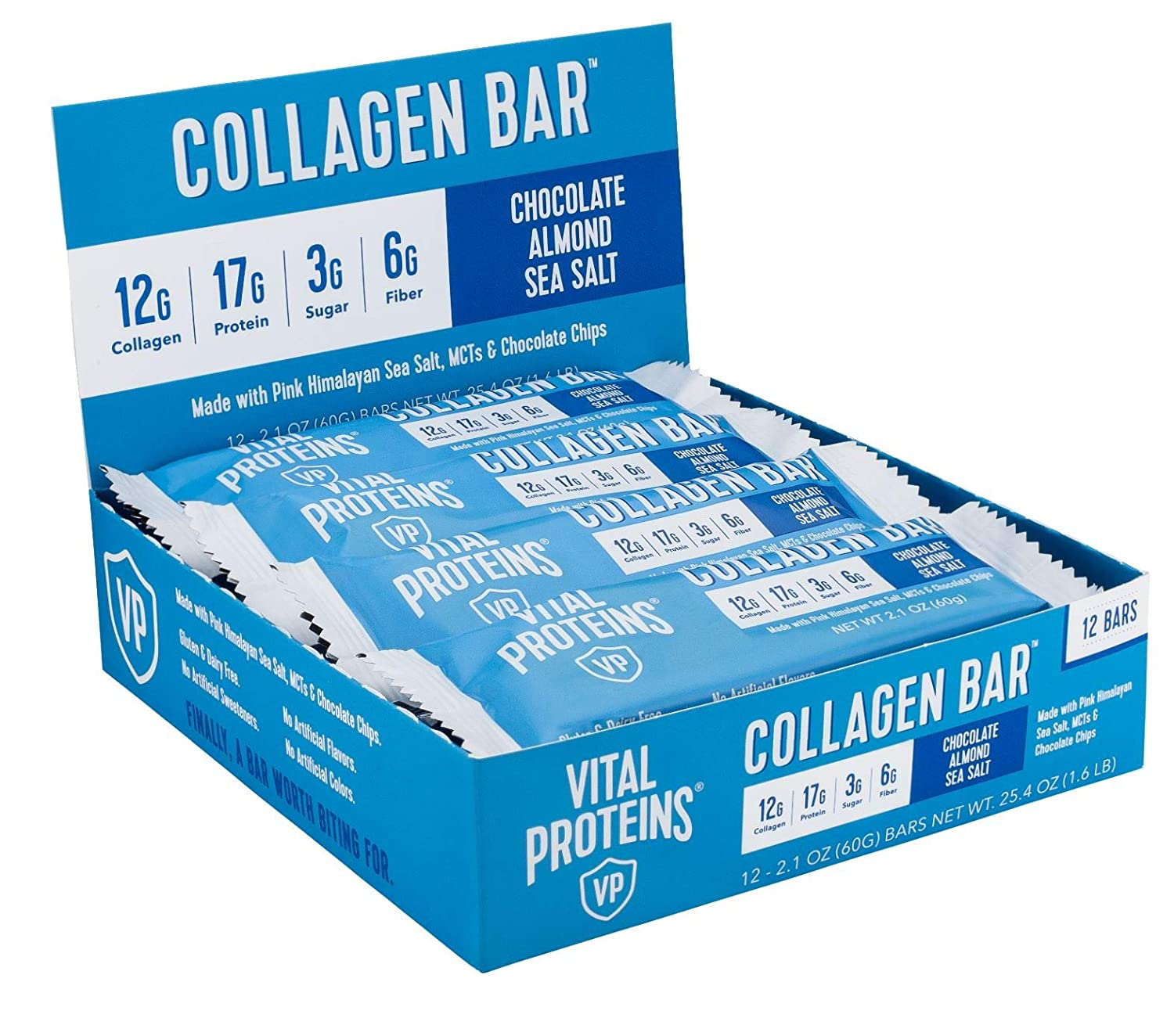 Collagen Protein Bars with - MCTs Proteins List price Vital Cheap mail order sales