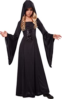 California Costumes Hooded Robe Costume, One Color, 10-12