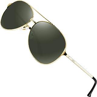 ATTCL - Hombres Gafas De Sol Polarizadas Uv400 Súper Ligero Marco De Metal