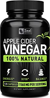 apple cider vinegar pills for weight loss by Zeal Naturals