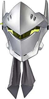 Overwatch Genji Roleplay Mask with Flip-Up Visor & Head Wrap Accessory - Blizzard Video Game Characters
