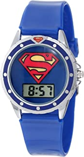 Superman Kids' SUP4018 Logo Watch