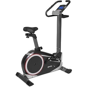 SportPlus Bicicleta Estática con Control a Través de App – Correa ...