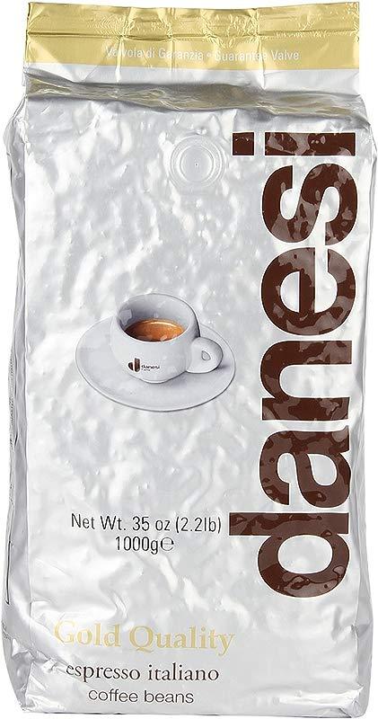 Danesi Caffe Gold Espresso Beans 2 2 Lb Bag