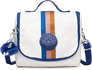 Kichirou Insulated Lunch Bag, Removable, Adjustable Crossbody Strap, Zip Closure, lacquer pearl