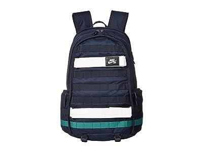 Nike SB RPM Backpack (Dark Obsidian/Bicoastal/Bicoastal) Backpack Bags