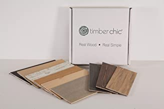 Timberchic DIY Reclaimed Wooden Wall Planks -Simple Peel and Stick Application. (Sample Pack) (All Shades)
