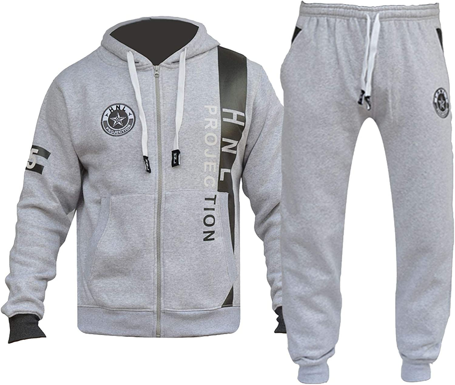 A2Z 4 Kids/® Kids Boys Girls Tracksuit Designers HNL Projection Print Zipped Top Hoodie /& Botom Jogging Suit Joggers New Age 7 8 9 10 11 12 13 Years