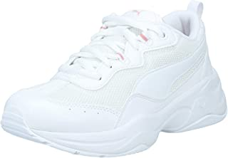Puma Unisex Kid's Cilia Jr White-Bridal Rose Sneakers