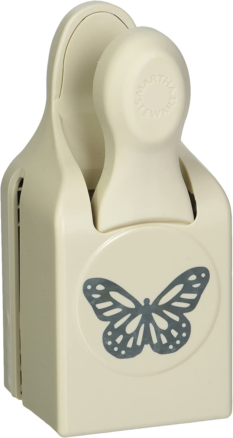 Martha Stewart Beauty products Crafts Max 72% OFF Large Punch Monarch Butterfly