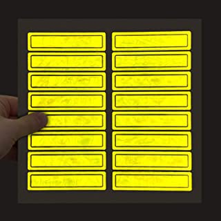 SmartSign NFPA Approved Retro Reflective Helmet Strips | 1