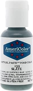 Food Coloring AmeriColor Slate Soft Gel Paste .75 Ounce