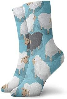 Womens//Girls Cartoon Owls Zebra Casual Socks Yoga Socks Over The Knee High Socks 23.6