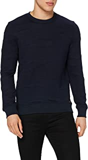 Lee Cooper Men's Structure Camo Sweater