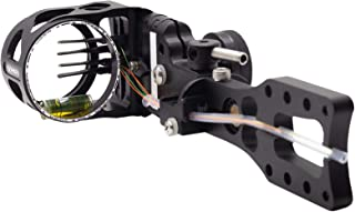 Microtune Windage VIPER Archery Venom Drive SD Fixed Plate MICROTUNE Compound Bow Sight Toolless Elevation Rapidset Knob Made in USA 2nd Axis Adjustment Durable Machined Aluminum 1 Pin