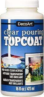 DecoArt Clear Pouring TopCoat DS134 16 fl oz/ 473 ml