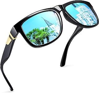 Joopin Gafas de Sol Hombre y Mujer Polarizadas Clásicas con Protección UV Retro Gafas de Sol para Conducir y Deportes al A...