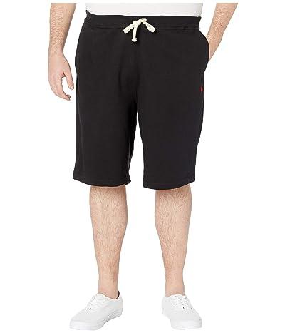 Polo Ralph Lauren Big & Tall Big Tall Fleece Athletic Shorts (Polo Black) Men