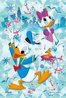 70ピース ジグソーパズル プリズムアートプチ グラスアートシリーズ ディズニー グラス・オーシャン(10x14.7cm)
