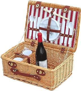oven Panier de Fruits Rattan Basket de Rangement Accueil Panier-Cadeau Bambou Portable Pique-Nique Rural Panier de Poisson...
