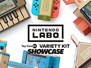 Clip: Nintendo Labo Toy-Con 01 Variety Kit Showcase