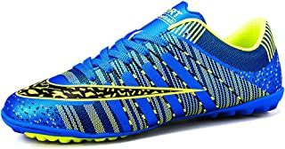 JIYE Men Soccer Shoes for Women Turf Shoe Indoor Cross Training