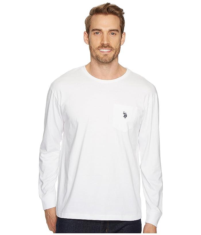 U.S. POLO ASSN. Long Sleeve Crew Neck Pocket T-Shirt