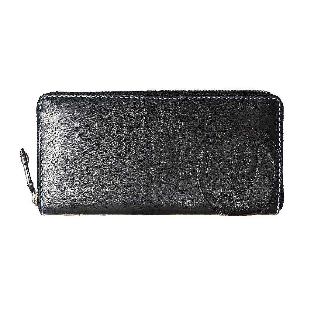 保守的シンジケートグローポリス POLICE BASIC IV 長財布 メンズ ネイビー バッファロー ラウンドジップ 財布 紺 PA-59302-15