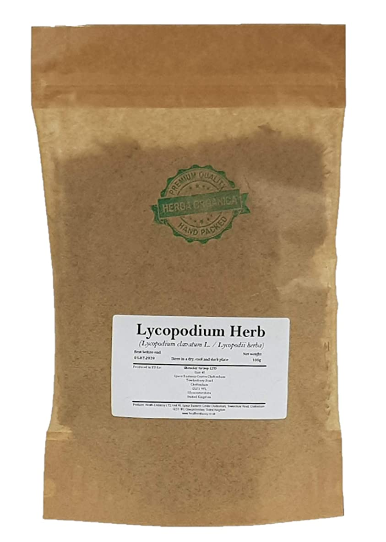 Lycopodium Herb - Lycopodium Clavatum L # Herba Organica # Common Club Moss, Ground Pine, Running Clubmoss (100g)