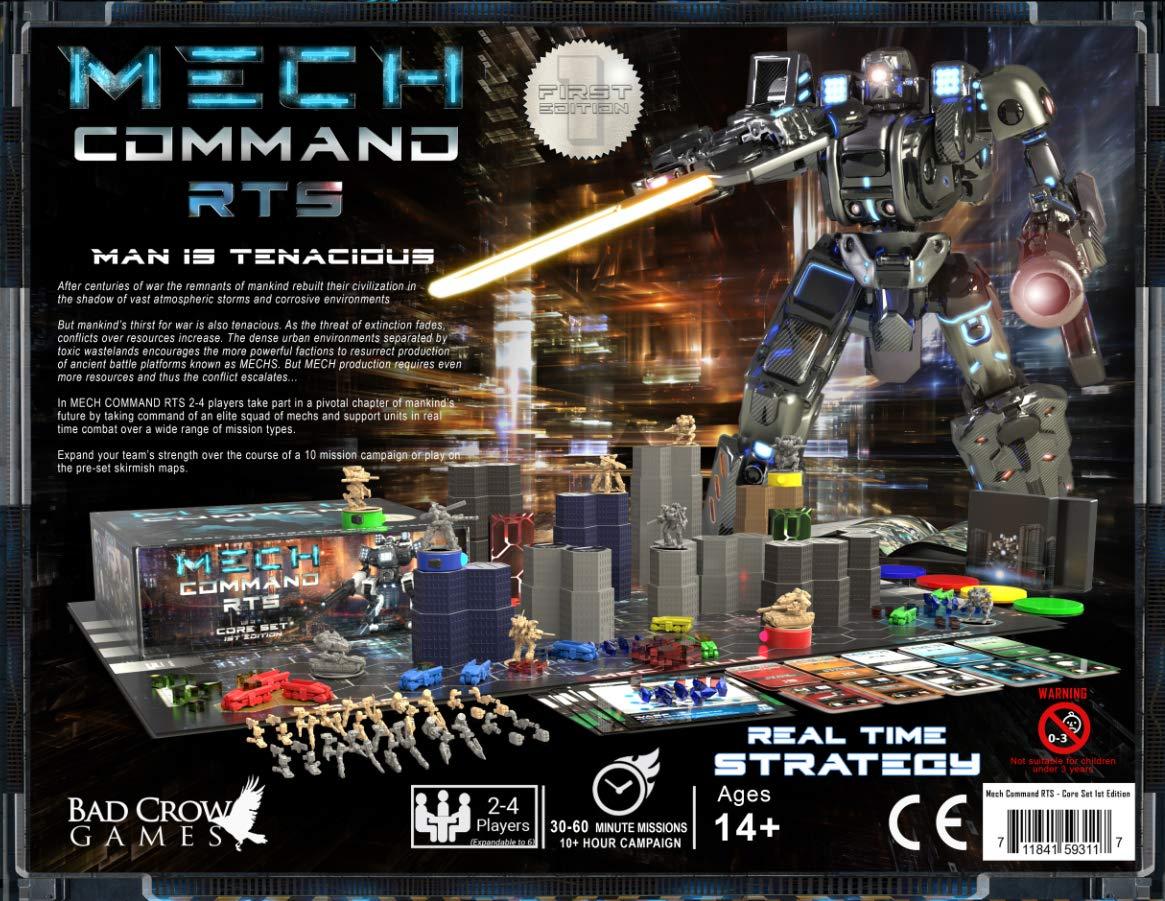 Mech Command RTS Juego de núcleo: Amazon.es: Juguetes y juegos