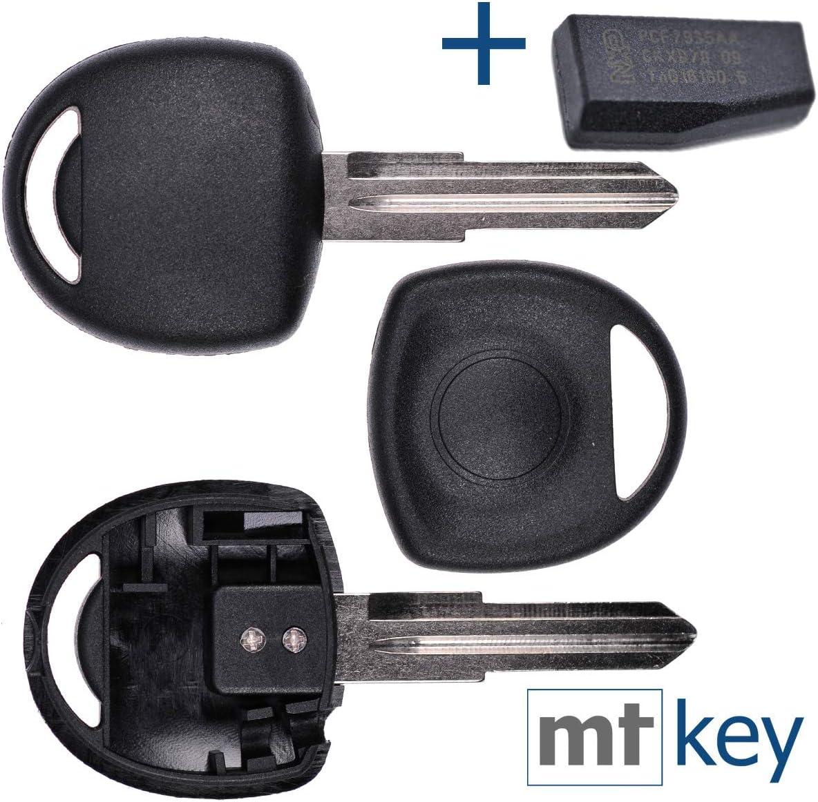 Auto Schlüssel Rohling Ym28 Id40 Transponder Elektronik