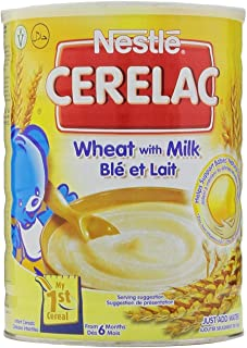 Nestle Cerelac Wheat With Milk - 2.2 Pounds (1 Kg) - 2 Pack