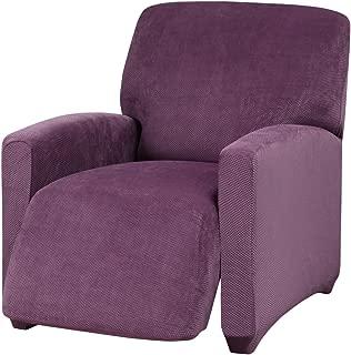 Madison LGRECL-PU Kathy Ireland Day Break Recliner Slipcover, Large, Purple