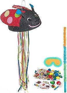 BirthdayExpress Ladybug Party Supplies - Pinata Kit