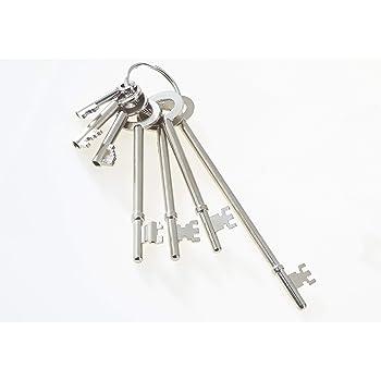 Master Keys Set Fire Brigade 6 Key Pack FB1-FB5 Communal Door Entrances Padlocks