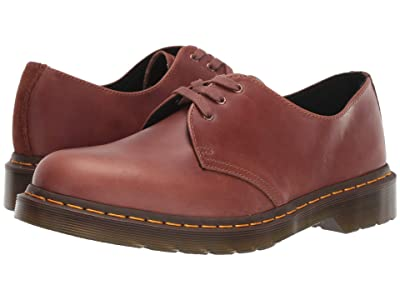 Dr. Martens 1461 Core (Tan/Polo Brown Soapstone/Hi Suede Waterproof) Shoes