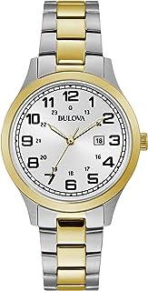 Bulova - Ladies Railroad Design Two Tone Watch 98M128
