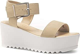 8c4d4df4e43 Herstyle Carita Women s Open Toe Ankle Strap Platform Wedge Sandals