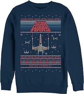 Star Wars Men's Ugly Christmas Sweater Red Five Sweatshirt