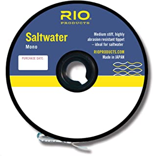 Rio Fly Fishing Tippet Saltwater Mono 12Lb Fishing Tackle, Clear