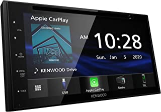 """$399 » Kenwood DDX57S 6.8"""" Digital Media Receiver with Apple CarPlay and Android Auto (Renewed)"""