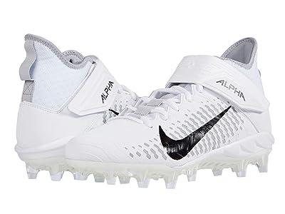 Nike Alpha Menace Pro 2 Mid (White/Black/Wolf Grey/Anthracite) Men
